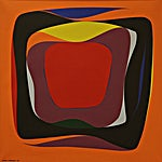 Gunnar S. Gundersen, 1966, 61 x 61 cm