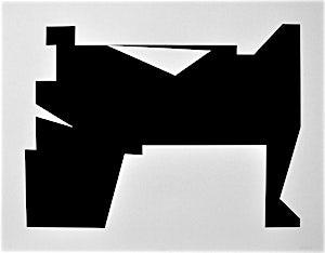 Anders Sletvold Moe: Cut out nr. 3, 2014, 70 x 88,5 cm
