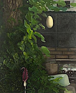 Astrid Nondal, Bortenfor, 2009, 165 x 135 cm