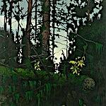 Astrid Nondal: Ute, 2009, 165 x 135 cm