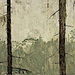 Astrid Nondal: En dag, tidlig på våren, 2014, 63 x 77 cm