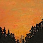 Astrid Nondal: Varm kveld 52x63 cm, 2014, 52 x 63 cm