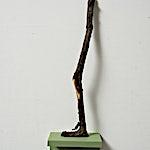 Astrid Nondal: Walking alone 46x13x8,5 cm, 2014, 46x13 x 8 cm