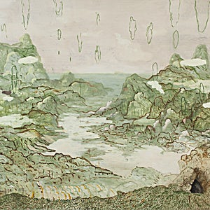 Astrid Nondal: Omvandring/Vest, 2018, 165 x 200 cm