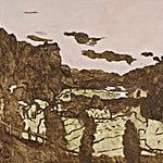 Astrid Nondal: Omvandring/Øst, 2018, 165 x 220 cm