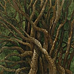Astrid Nondal: Mumling, 2007, 135 x 165 cm