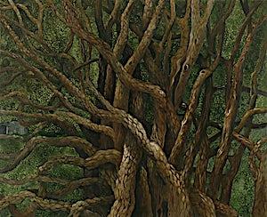 Astrid Nondal, Mumling, 2007, 135 x 165 cm