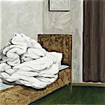 Astrid Nondal: Ved siden av, 2007, 73 x 93 cm