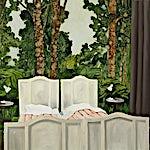 Astrid Nondal: Dormitorium, 2007, 80 x 91 cm