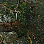 Astrid Nondal: Trefall, 2007, 135 x 165 cm