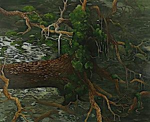 Astrid Nondal, Trefall, 2007, 135 x 165 cm