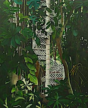 Astrid Nondal, Botanisk I, 2009, 165 x 135 cm