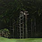 Astrid Nondal: Skogstillas, 2009, 95 x 120 cm