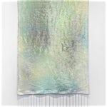 Aurora Passero: Natural Scenery #1, hand woven, hand dyed nylon, 2015, 250 x 128 cm