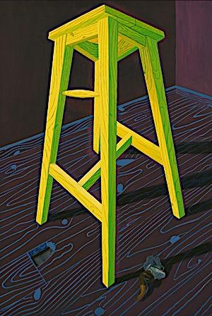 Christoffer Fjeldstad, Yellow Goghney, 2011, 128 x 87 cm