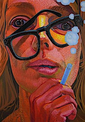 Christoffer Fjeldstad, Trouble, 2013, 160 x 113 cm