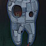 Christoffer Fjeldstad: RIP, 2013, 87 x 69 cm