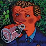 Christoffer Fjeldstad: Pop!, del 1 av tripyk, 2013, 80 x 80 cm