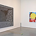Christoffer Fjeldstad: Installation view, 2015