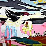 Christoffer Fjeldstad: I Getsemane, 2004, 176 x 240 cm
