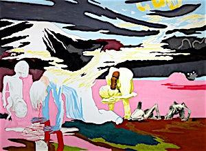 Christoffer Fjeldstad, I Getsemane, 2004, 176 x 240 cm