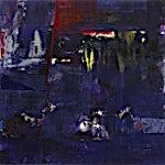 Dag Thoresen: Pangaea, Miles Davis live Osaka Japan, Feb. 1. 1975, 2009, 140 x 297 cm