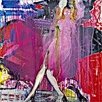 Dag Thoresen: Lady in rose light, 2012, 170 x 170 cm