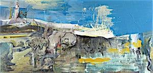 Dag Thoresen, Strender I, 2012, 95 x 200 cm