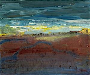 Dag Thoresen, Åpning, 2011, 50 x 60 cm