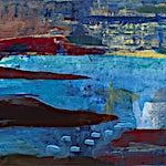 Dag Thoresen: Strender III, 2012, 105 x 210 cm