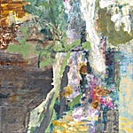 Dag Thoresen: Naturimpuls II, 2016, 170 x 170 cm