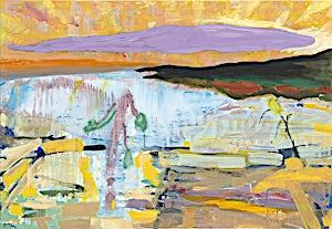 Dag Thoresen, Utsyn, 2015, 110 x 160 cm
