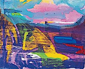 Dag Thoresen, Jordtid, 2001, 85 x 105 cm