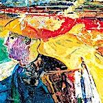 Dag Thoresen: Vincent van Gogh I, 2001, 87 x 170 cm