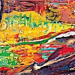 Dag Thoresen: Vincent van Gogh II, Hysj, 2001, 87 x 170 cm