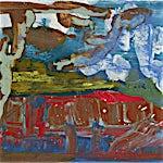 Dag Thoresen: Rødmyra, 2018, 38,5 x 65 cm