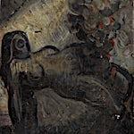 Emanuel Vigeland (1875 - 1948): Skisse til Vita, 1929, 45,5 x 30,5 cm