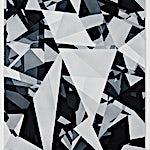 Espen Dietrichson: Indigo variations #3, 2014, 105 x 75 cm