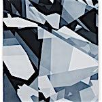 Espen Dietrichson: Indigo variations #5, 2014, 105 x 75 cm