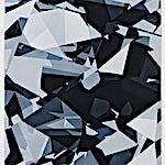 Espen Dietrichson: Indigo variations #4, 2014, 105 x 75 cm
