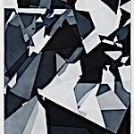 Espen Dietrichson: Indigo variations #1, 2014, 105 x 75 cm