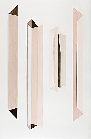 Espen Dietrichson, Glass, Stone 6, 2015, 151 x 102 cm