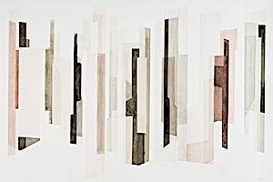 Espen Dietrichson, Glass, Stone 9, 2015, 76 x 105 cm
