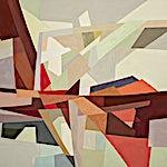 Espen Dietrichson: Arches and distances #6, 2020, 97 x 138,5 cm