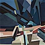 Espen Dietrichson: Arches and distances #11, 2020, 95,5 x 135,5 cm