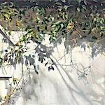 Frank Brunner: Skygger, 2013, 127 x 170 cm