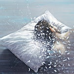 Frank Brunner: The pillow #2, 2013, 97 x 71 cm