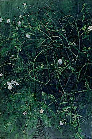 Frank Brunner, Rosebusk I, 2000, 183 x 122 cm
