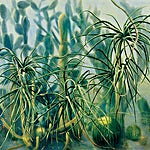 Frank Brunner: Drivhus II, 2001, 170 x 205 cm