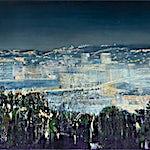 Frank Brunner: Sikt II, 2019, 100 x 150 cm